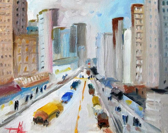Art: City Streets by Artist Delilah Smith
