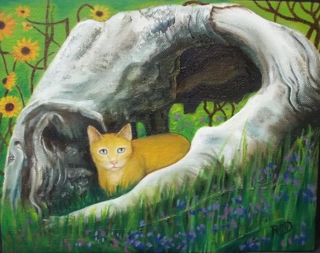 Art: SHELTER by Artist Rosemary Margaret Daunis