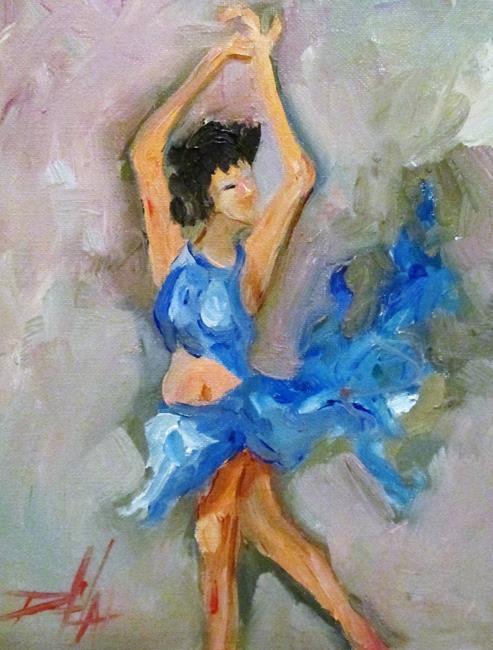 Art: The Dancer by Artist Delilah Smith