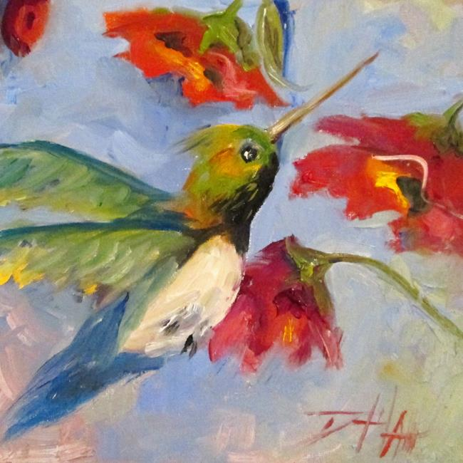 Art: Hummingbird No. 13 by Artist Delilah Smith