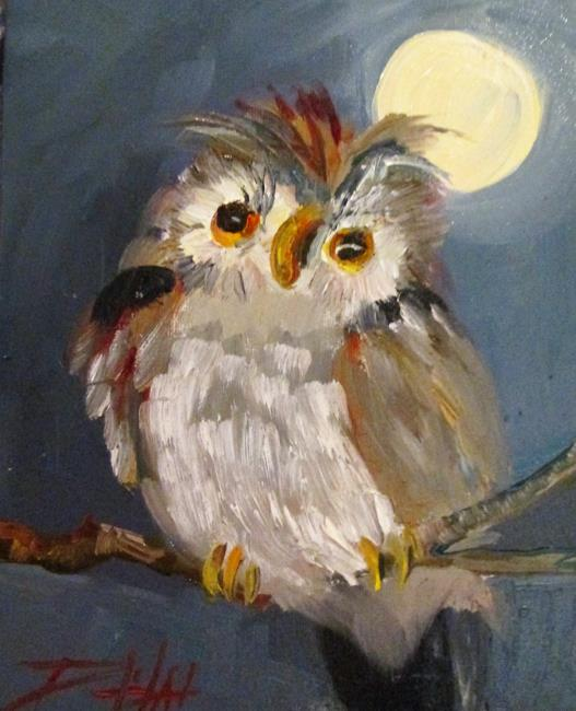 Art: Owl No. 7 by Artist Delilah Smith