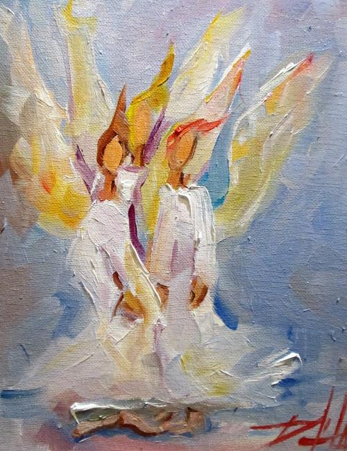Art: Angels No. 14 by Artist Delilah Smith
