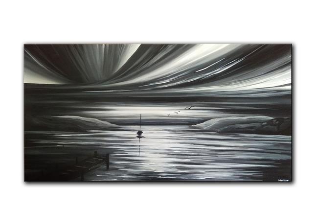 Art: A MIDNIGHT WONDER by Artist Kate Challinor