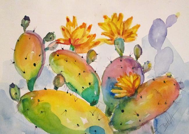 Art: Cactus No. 7 by Artist Delilah Smith