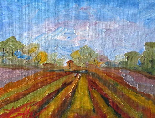 Art: Farm Field by Artist Delilah Smith