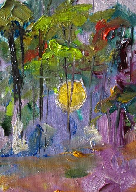 Art: -Yellow Moon-sold by Artist Delilah Smith