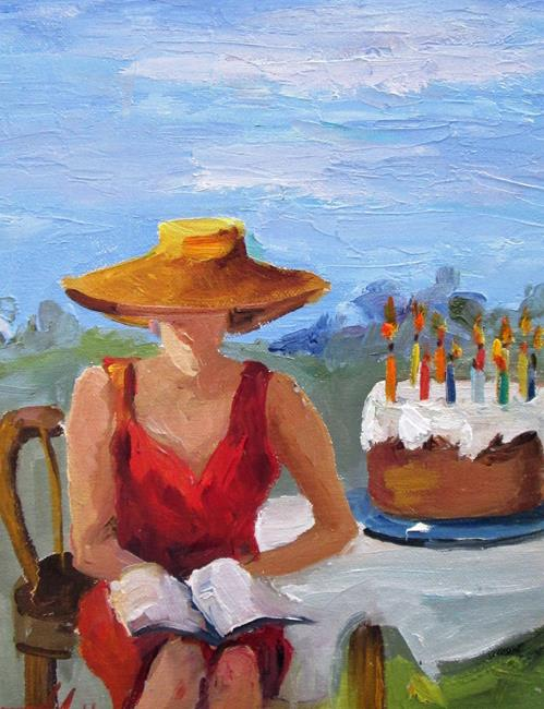 Art: Birthday Girl No. 2 by Artist Delilah Smith