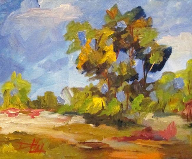 Art: Landscape No.13 by Artist Delilah Smith