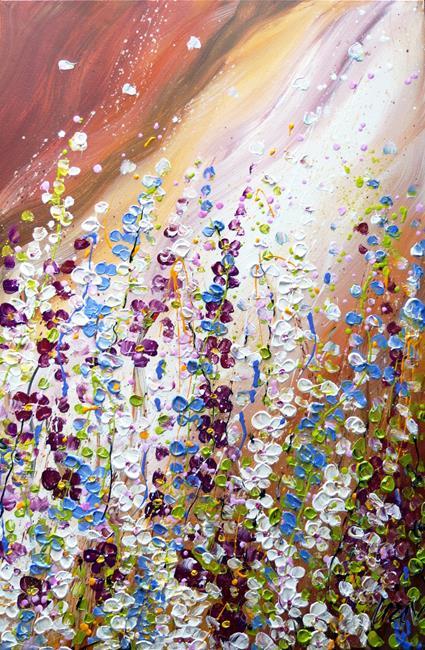 Art: Delicate Blossom by Artist LUIZA VIZOLI