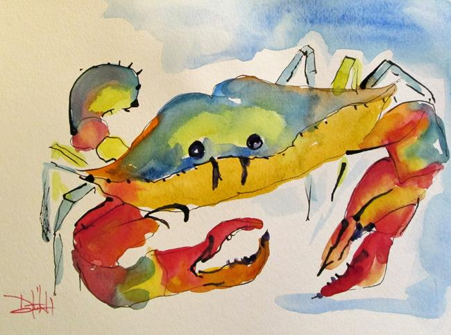 Art: Blue Crab No. 10 by Artist Delilah Smith