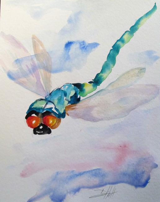 Art: Dragonfly No. 6 by Artist Delilah Smith
