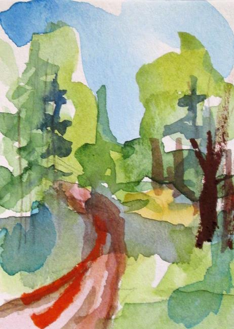 Art: Woodland Trail by Artist Delilah Smith