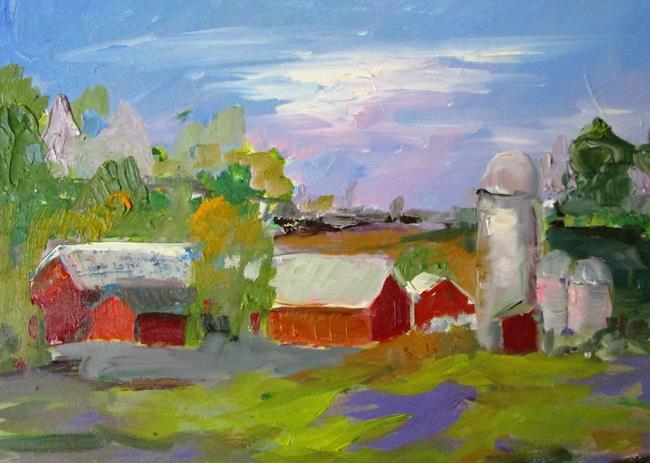 Art: Farm by Artist Delilah Smith