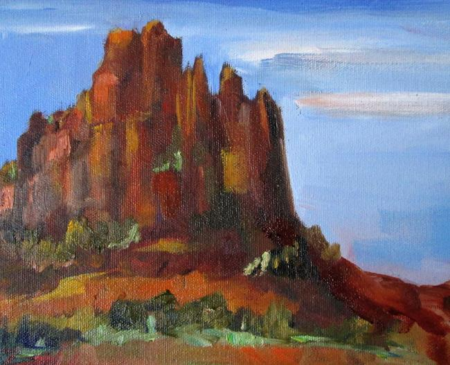 Art: Red Rock of Sedonia by Artist Delilah Smith