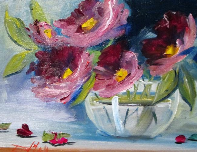 Art: Vase of Flowers No. 2 by Artist Delilah Smith