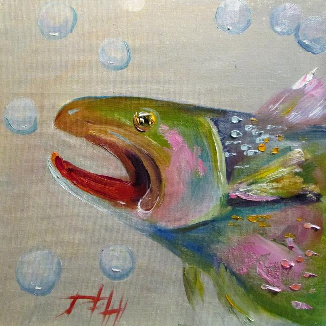 Art: Trout No. 8 by Artist Delilah Smith