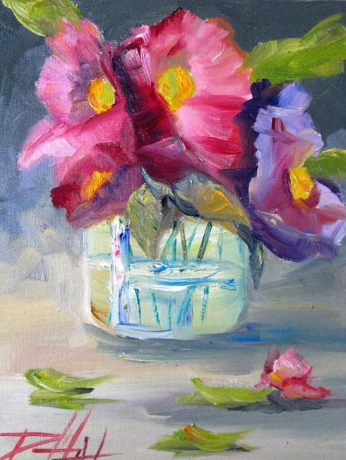 Art: Floral Still Life No. 12 by Artist Delilah Smith