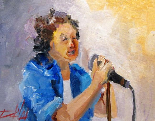 Art: The Singer by Artist Delilah Smith