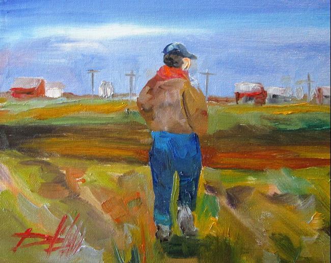 Art: Farmer by Artist Delilah Smith