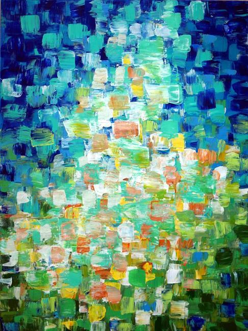 Art: Abstract by Artist LUIZA VIZOLI