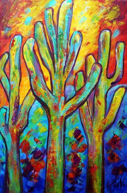 Art: Cactus by Artist LUIZA VIZOLI