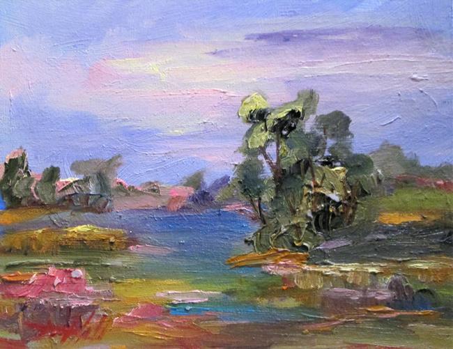 Art: Landscape No. 18 by Artist Delilah Smith