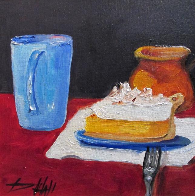 Art: Lemon Pie by Artist Delilah Smith