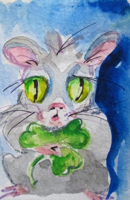 Art: Irish Mouse No. 2 by Artist Delilah Smith