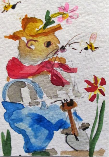 Art: Mr Woodchuck by Artist Delilah Smith