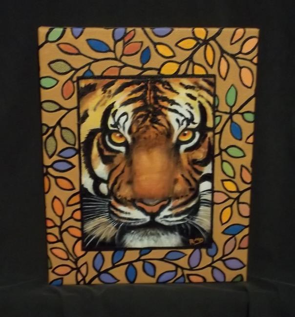 Art: TIGER by Artist Rosemary Margaret Daunis
