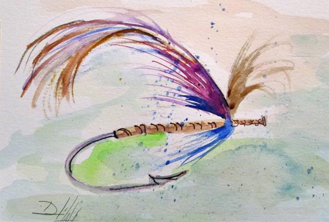 Art: Fishig Lure No. 4 by Artist Delilah Smith