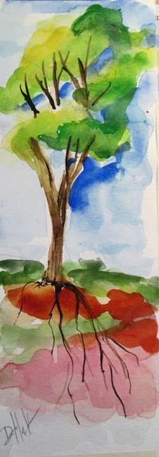 Art: Eucalyptus Tree by Artist Delilah Smith