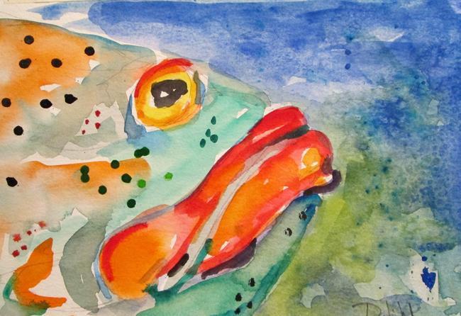 Art: Grouper by Artist Delilah Smith