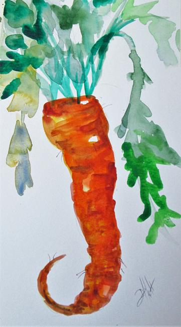 Art: Carrot by Artist Delilah Smith