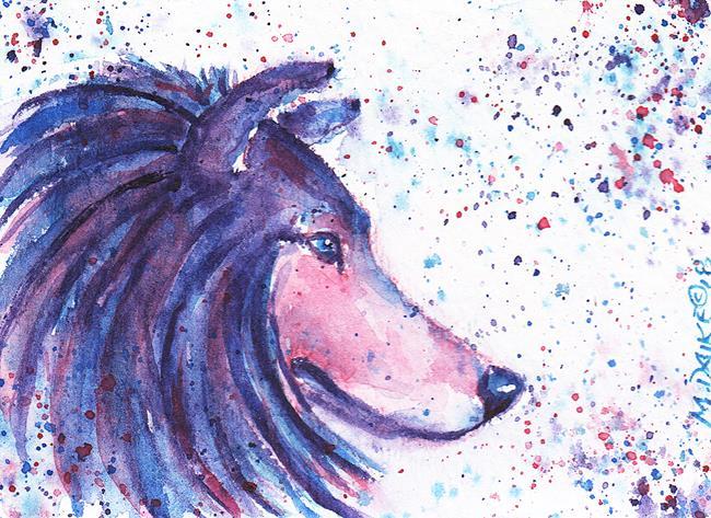 Art: ACEO Colors Collie 1.jpg by Artist Melinda Dalke