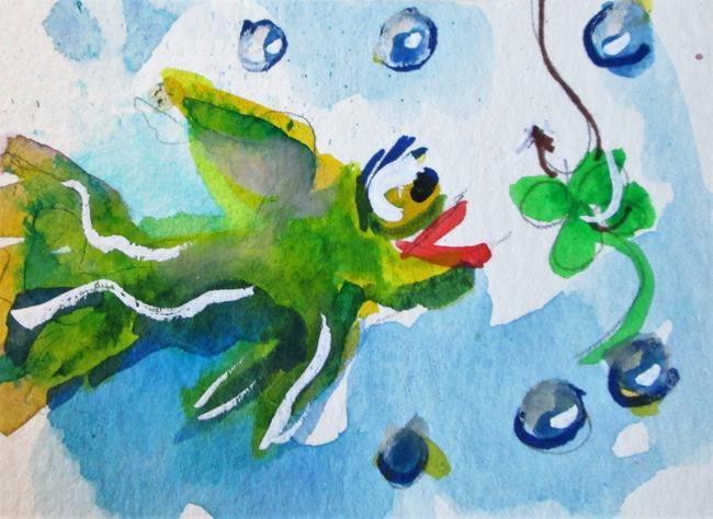 Art: Irish Fish by Artist Delilah Smith