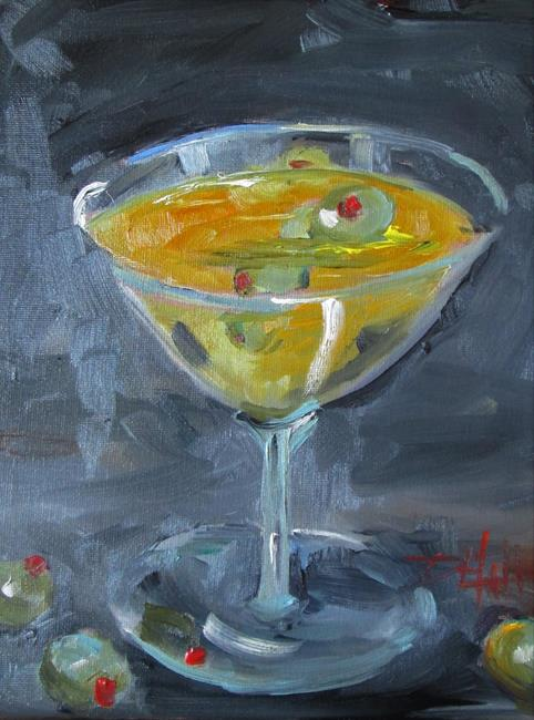 Art: Dirty Martini by Artist Delilah Smith