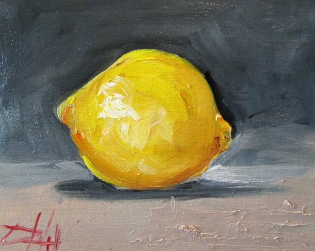 Art: Lemon Fruit by Artist Delilah Smith