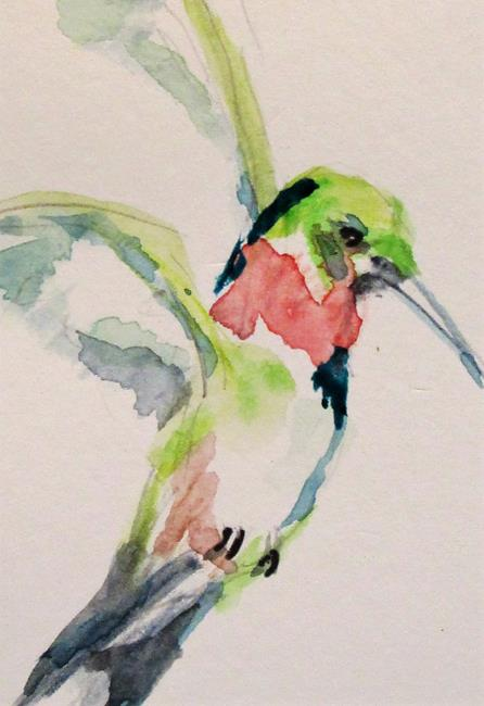 Art: Hummingbird by Artist Delilah Smith