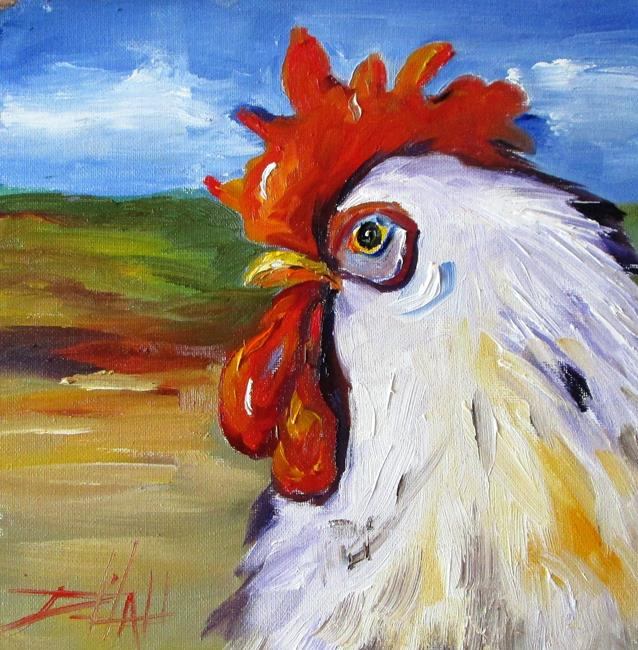 Art: Rooster No. 42 by Artist Delilah Smith