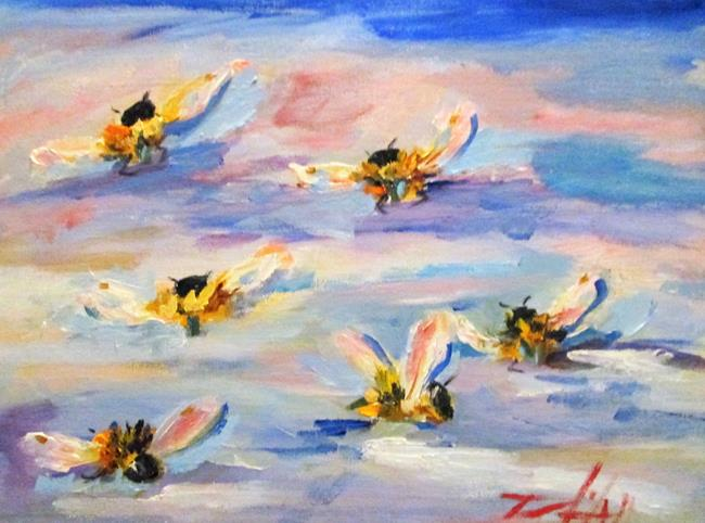 Art: Wild Bees by Artist Delilah Smith