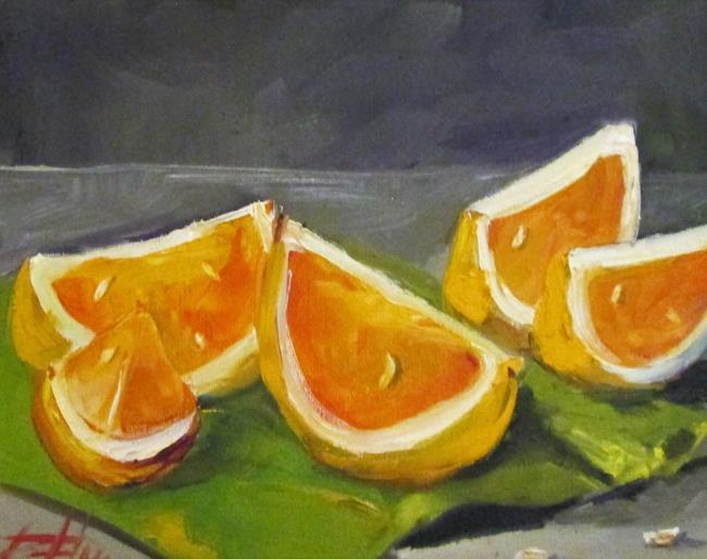 Art: Orange Slices by Artist Delilah Smith