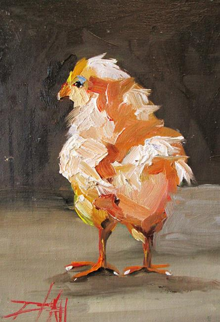 Art: Small Chick by Artist Delilah Smith