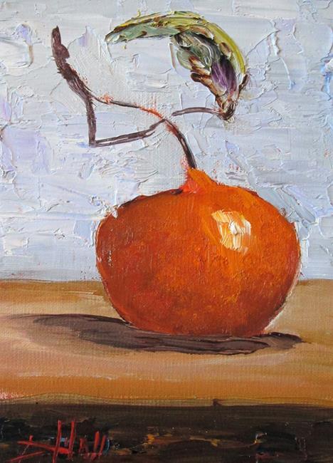 Art: Tangerine No.2 by Artist Delilah Smith