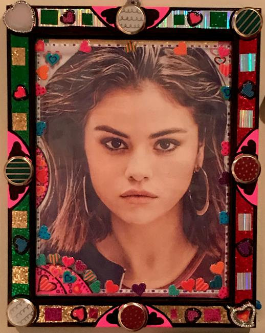 Art: Selena Gorgeous Gomez-Gorgeous-Framed Artworks. by Artist William Powell Brukner