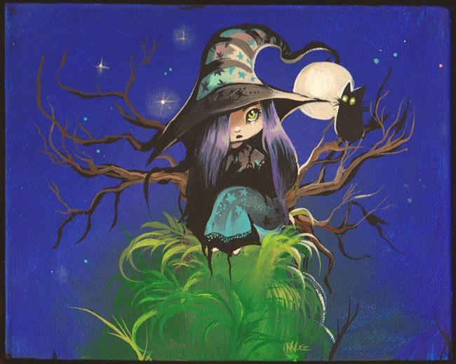 Art: Night Breeze by Artist Nico Niemi