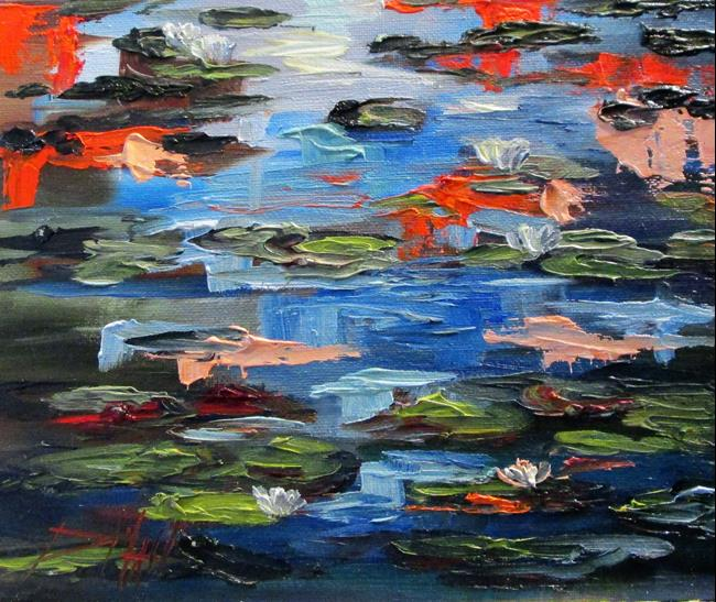 Art: Lily Pond No. 3 by Artist Delilah Smith