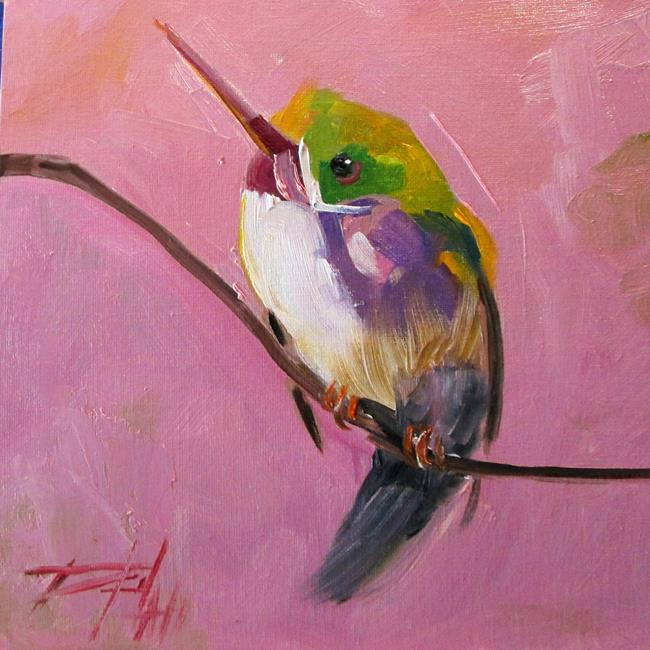 Art: Hummingbird No. 14 by Artist Delilah Smith
