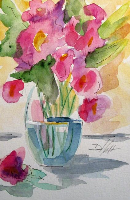 Art: Floral Still Life No. 15 by Artist Delilah Smith