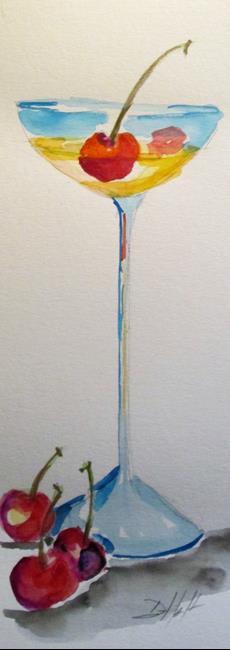 Art: Cherry Martini by Artist Delilah Smith